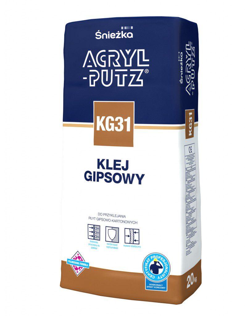fot. Sniezka_Acryl_Putz_KG31 KLEJ_20kg