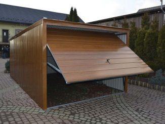 blaszany garaż