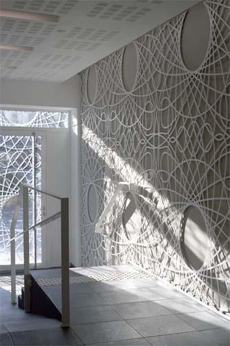 betonowa ozdobna fasada