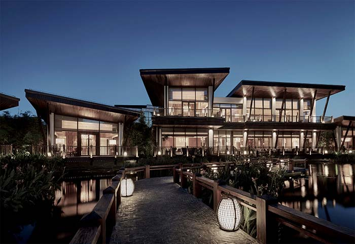 architektura wnętrz Andre Fu