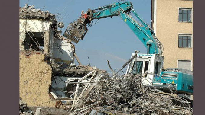 wyburzenie domu