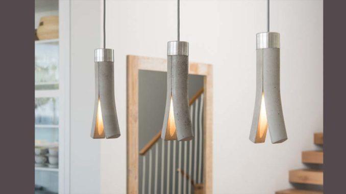 Betonowa lampa od Ardoma Design