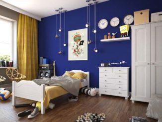 biel w pokoju dziecięcym