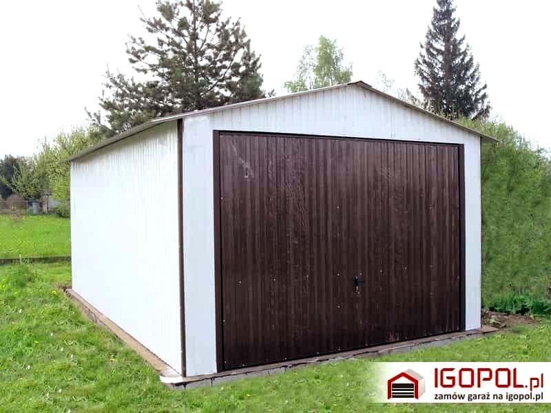 W Mega Tani i bezpieczny garaż w stylu drewnianym? Nic prostszego – oto MY78