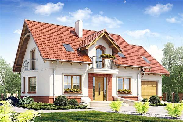 projekt dom dla ciebie z garazem