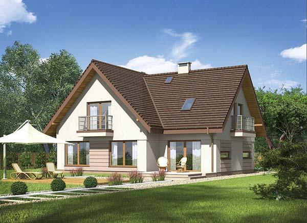 projekt domu murato -m75c promien slonca wariant iii-waj3567