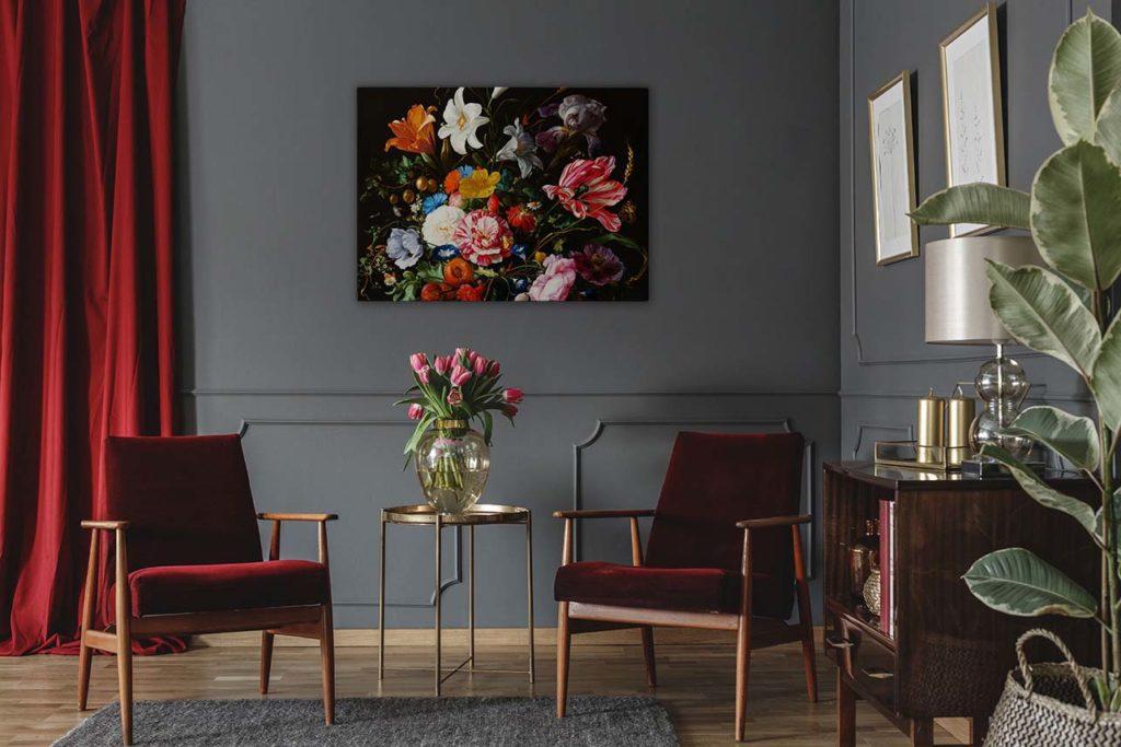 obraz kwiaty holenderskie